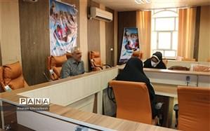 """اجرای  داوری آثار دانش آموزان در جشنواره """"جابربن حیان"""" به صورت مجازی در شهرستان امیدیه"""