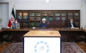 روحانی: نگذاشتیم زانوی تروریسم اقتصادی آمریکا نفس تولید و نشاط کشور را تنگ کند