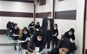 بازدید شهبازبیگی از روند برگزار ی امتحانات نهایی منطقه۱۰