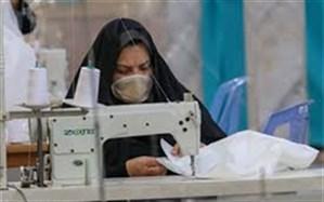 دوخت رایگان ۱۵۰۰ دست لباس کادر درمانی توسط بانوان شاهیندژی