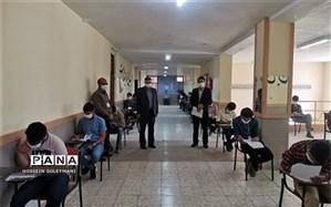 بازدید رئیس اداره آموزش و پرورش زبرخان از فرآیند برگزاری امتحانات نهایی پایه دوازدهم