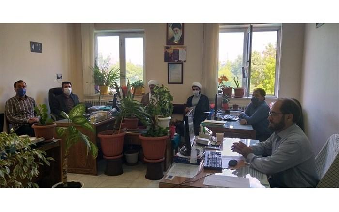 جلسه هماهنگی کمیته همکاری های حوزه علمیه و آموزش و پرورش اردبیل