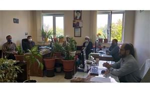 برگزاری جلسه هماهنگی کمیته همکاری های حوزه علمیه و آموزش و پرورش اردبیل
