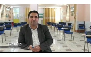 بازدید مدیر آموزش و پرورش شهرستان امیدیه از روند برگزاری امتحانات نهایی