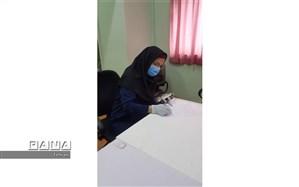 بازدید معاونت بهداشت دانشگاه علوم پزشکی تهران از حوزه های امتحانات نهایی منطقه ۱۱