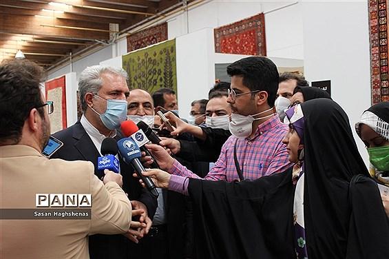 حضور وزیر میراث فرهنگی، صنایع دستی و گردشگری در شهرستان اسلامشهر