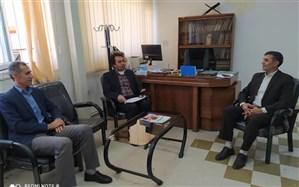 بازدید نائب رئیس فدراسیون ورزش دانش آموزی از هیأت دانش آموزی کردستان