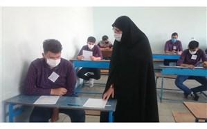 بازدید سرزده مدیرکل ارزیابی عملکرد و پاسخگویی به شکایات از حوزه امتحانی مدارس منطقه 19 شهر تهران