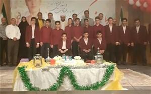 جشن تکلیف 4860 هزار دانش آموز پسر پایه هشتم مدارس استان سمنان
