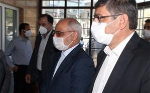 بازدید وزیر آموزش و پرورش از پروژه های آموزشی در حال ساخت همدان