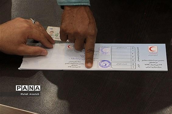 پنجمین دوره انتخابات مجامع جعیت هلال احمر همزمان با سراسر کشور درشهرستان خوسف  خوسف