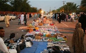بازگشایی بازار ایرانشهر بعد از ١٠ روز تعطیلی