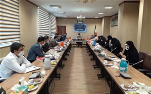 تشکیل جلسه پروژه مهر درمنطقه 15 با حضور مدیرکل شهر تهران