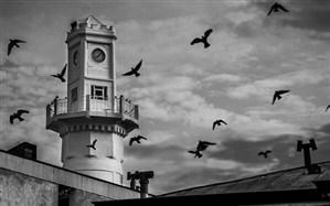 برج ساعت بندرانزلی برای گردشگران کوک شد
