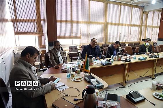 نشست شورای برنامهریزی سازمان دانشآموزی شهر تهران