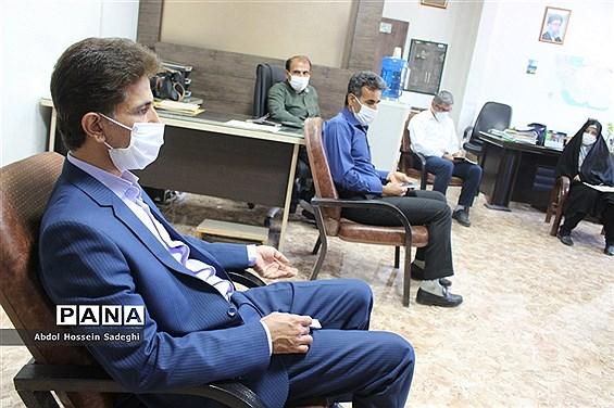 جلسه کارگروه نیازهای آموزشی معلمان تربیت بدنی و آموزگاران پایه استان بوشهر