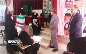 بازدید مدیریت آموزش و پرورش پاکدشت از برگزاری امتحانات مدارس