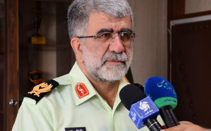 سردار حبیبی فرمانده پلیس فارس