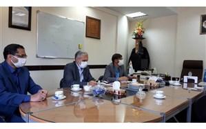 دیدار مسئولان بنیاد شهید با مدیران شرکت ترانسفو زنجان
