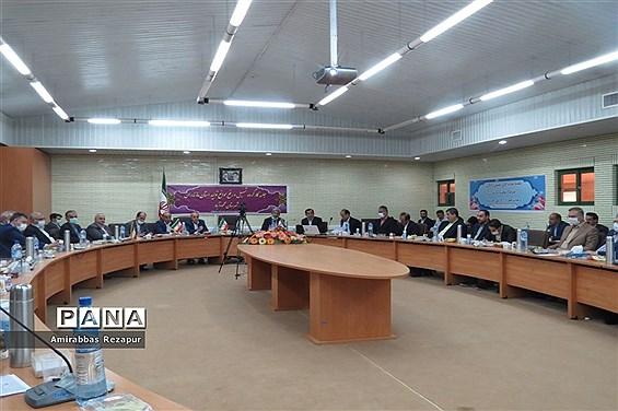 جلسه کارگروه تسهیل و رفع موانع تولید مازندران در شهرک صنعتی شهدای محمودآباد