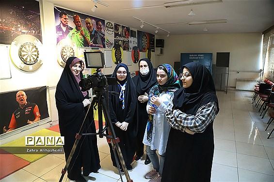 تولید محتوای سازمان دانشآموزی شهر تهران