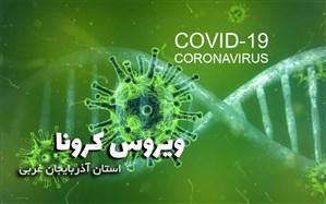 ۱۵ فوتی جدید در اثر ابتلاء به ویروس کرونا در آذربایجان غربی