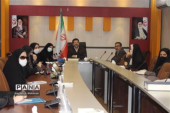 اولین جلسه کارگروه آموزشی مدیران منتخب مقطع ابتدایی در ادارهکل شهرستانهای استان تهران