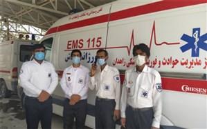 خدمات اورژانسی به بیش از 200 بیمار حاد تنفسی