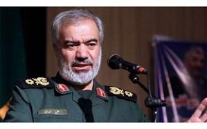 سردار فدوی: آمریکایی ها باید سر خود را در گل فرو کنند