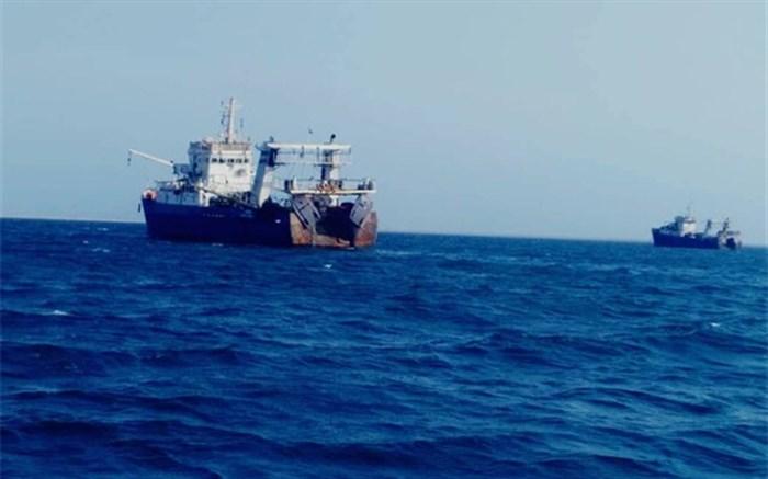 توقیف دو فروند کشتی صید صنعتی ترال