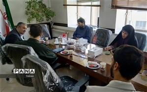 برگزاری جلسه کمیته پشتیبانی بسیج دانش آموزی منطقه۱۷