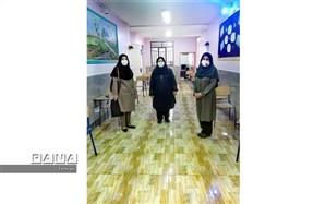 بازدید معاونت بهداشت دانشگاه علوم پزشکی تهران ازحوزه های امتحانات نهایی منطقه 17
