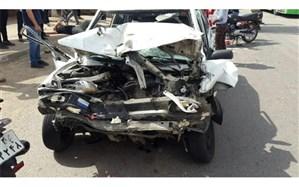 کشته و زخمی شدن ۱۱ نفر در پی واژگونی خودروی بلیزر در گیلان