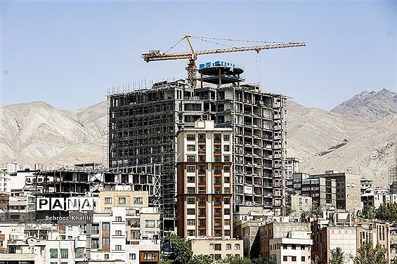 ساختار متفاوت ساخت و سازها در کلان شهر تهران
