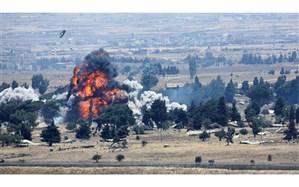 اتوبوس حامل نظامیان ارتش سوریه هدف حمله تروریستی قرار گرفت