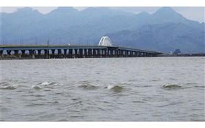 حجم فعلی آب دریاچه ارومیه حدود ۴.۹ میلیارد مترمکعب است