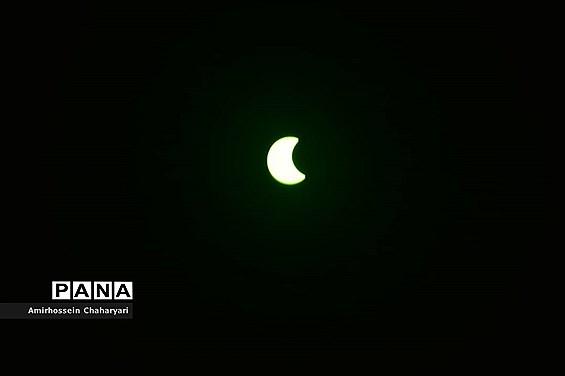 رصد آخرین خورشیدگرفتگی قرن در تایباد