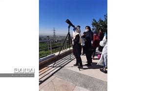 دانش آموزان منجم تهرانی در آخرین خورشید گرفتگی قرن