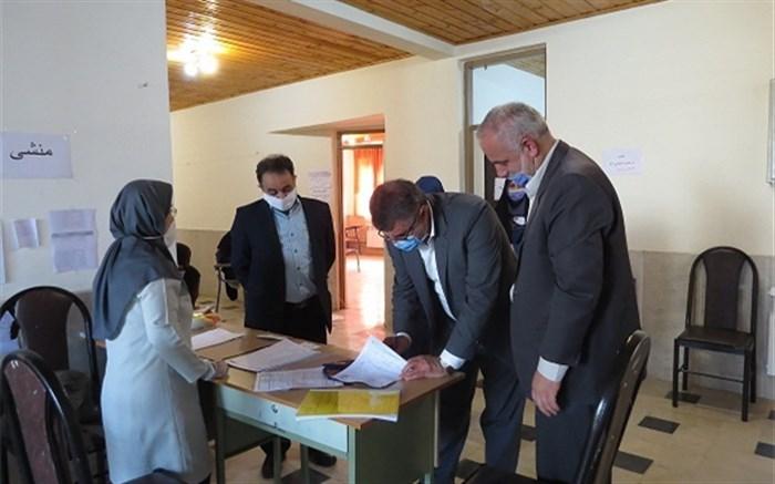 بازدید مدیرکل آموزش و پرورش استان گیلان از برخی حوزههای آزمون نهایی پایه دوازدهم در فومن