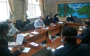 تشکیل جلسه کارگروه سلامت پروژه مهر در بجنورد