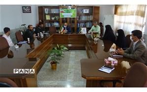 دیدار رئیس سازمان بسیج دانش آموزی استان خراسان شمالی با مدیر آموزش و پرورش شیروان