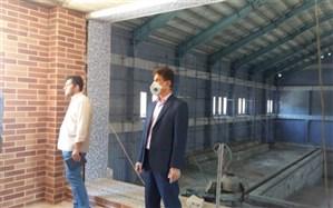 تلاش برای اتمام پروژه استخر دانش آموزی استان بوشهر