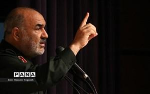سردار سلامی: تا زمانی که قافله شهیدان جریان دارد، به این ملت و مملکت آسیبی نمیرسد