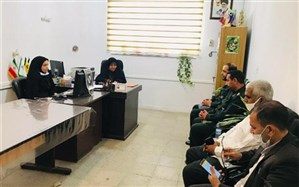 نشست مسئول بسیج فرهنگیان سپاه نینوا استان گلستان با معاون پرورشی آموزش وپرورش آزادشهر