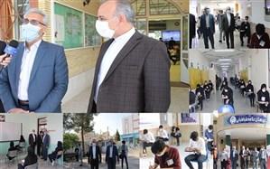 رئیس دانشگاه علوم پزشکی خراسان جنوبی: برگزاری آزمون ها با رعایت استانداردهای بهداشتی
