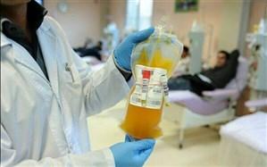 بهبود یافتگان کرونا، با مراجعه به انتقال خون پلاسما اهداء کنند