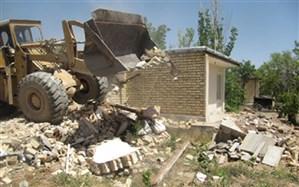 ۵۰ مورد ساختوساز غیرمجاز در زمینهای کشاروزی شهرستان ری تخریب شد