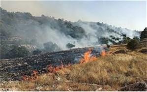 آتش سوزی در مراتع  بخش لوداب استان کهگیلویه وبویراحمد
