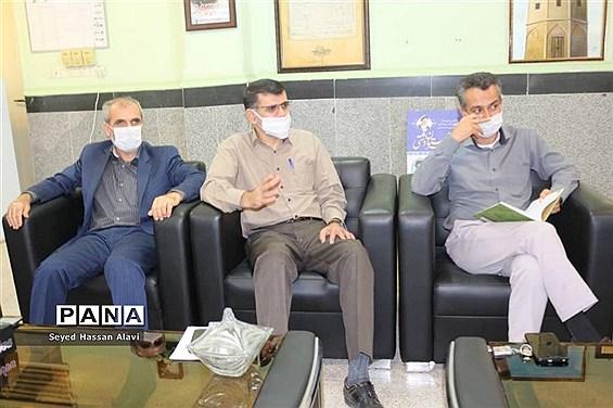 جلسه ستاد کمک مومنانه آموزش و پرورش شهرستان دشتی
