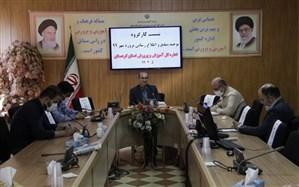 اولین نشست کارگروه توجیه، تبلیغ و اطلاع رسانی پروژه مهر 99 آموزش و پرورش کردستان برگزار شد